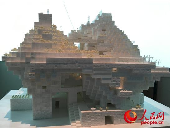 參展作品《深圳新高度:可見的烏托邦》設計模型
