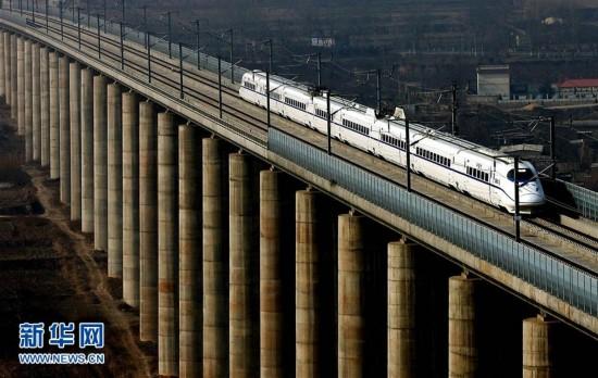 中国高铁迈入2万公里新时代