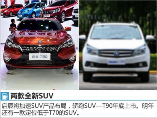 启辰4款全新车型将上市 涉及MPV/SUV等-图2