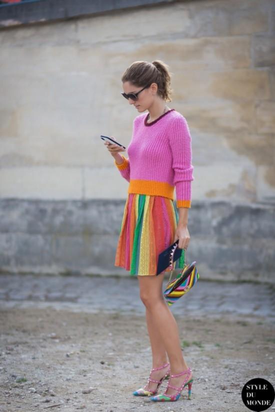 换季嫌针织衫土是你不会穿 这样搭配都是主打潮流