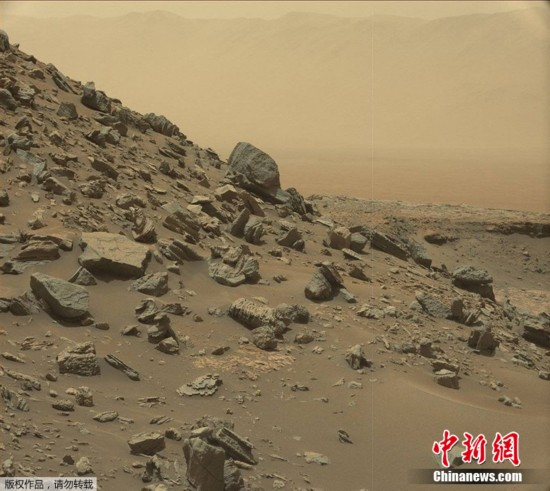 NASA发布火星新影像 与地球景色如出一辙