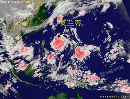 台风 莫兰蒂 已靠近福建漳浦 最新实时卫星云图曝光 组图图片