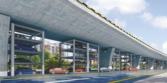 南北快速干道高架桥北段月底竣工