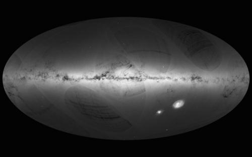"""""""盖亚""""拍摄超11亿颗恒星将绘最精确银河地图"""