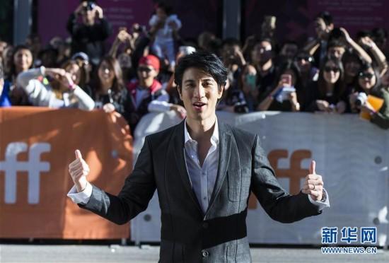 王力宏亮相多伦多国际电影节