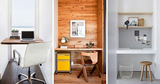 这些尴尬的小空间 都能变成舒适工作区