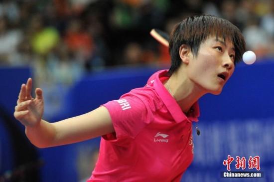 2016中国乒乓球公开赛 樊振东丁宁夺冠
