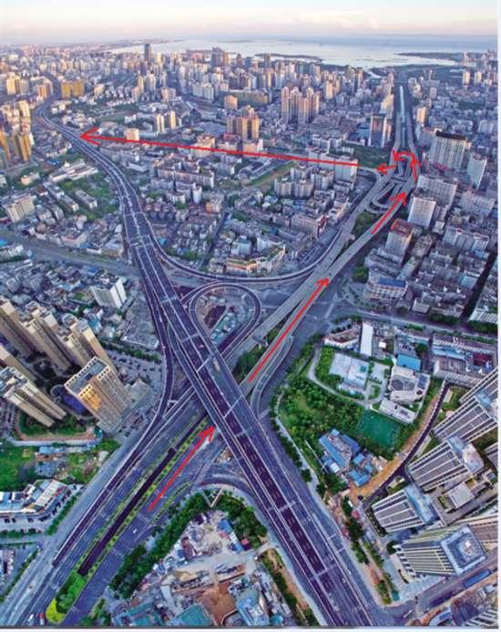 国兴大道交通组织优化 带你抄近道