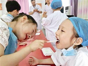 泰州专家提醒:孩子乳牙不掉源于饮食太精细