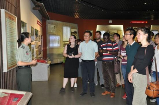 纪念红军长征胜利80周年中外学者交流活动在江西瑞金启动