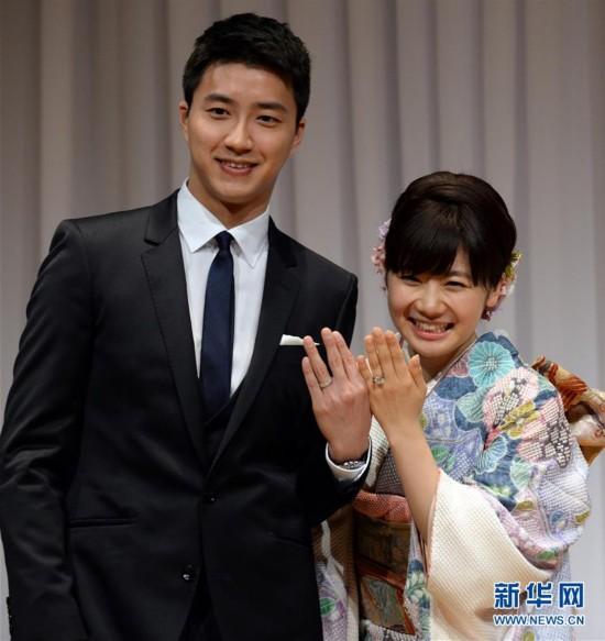 """天生一对!""""瓷娃娃""""福原爱江宏杰结婚了 他们竟然是这样结缘的"""