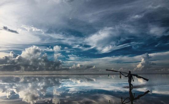 旅游杂志摄影赛优胜作品展出 美到窒息