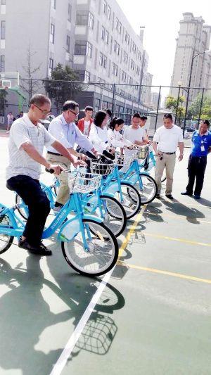 淮安公共自行车逐渐融入市民生活 使用率增20%