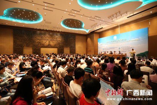 图为2016年中国中药制剂大会在桂林举行。裴蕾 摄