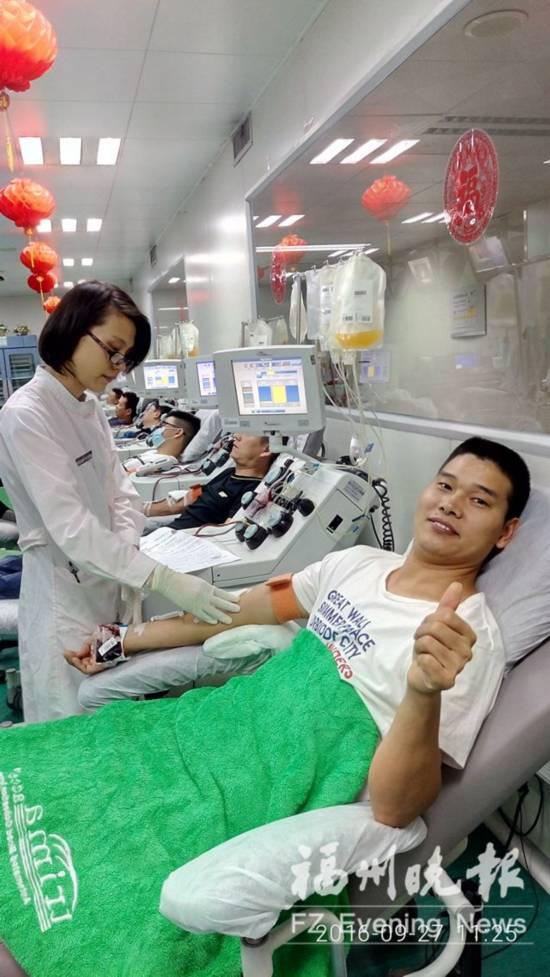 无惧台风众人赶献血 省血液中心:市献血点今暂停