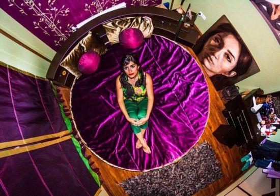 南非摄影师花6年拍摄世界卧室俯瞰图