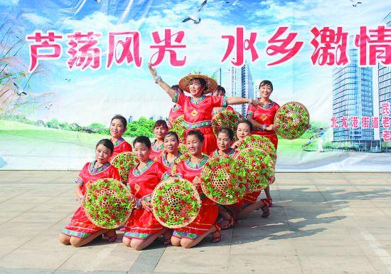 盐城盐都北龙港街道第六届老年文化艺术节开幕