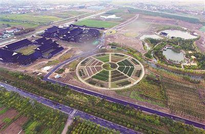 泰州高港中药科技园将于10月3日开园迎客