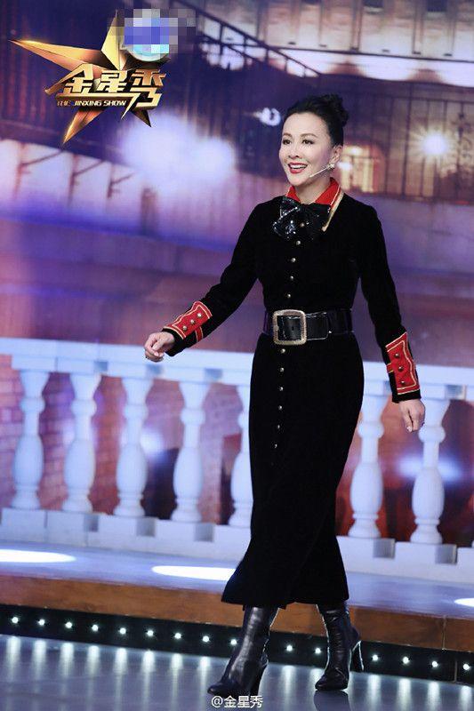 组图:刘嘉玲碰上金星变话唠 大谈初恋许晋亨