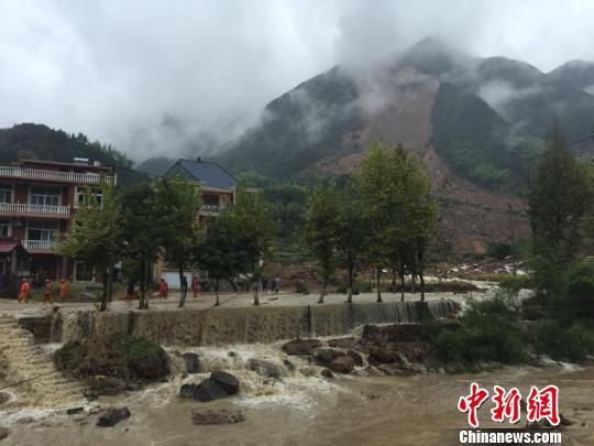 浙江遂昌山体滑坡遇难人数上升至8人19人仍失联