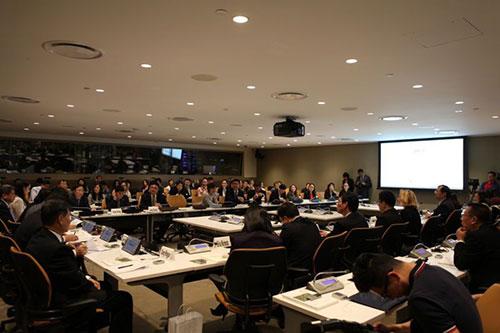 """""""中国企业海外可持续发展""""项目首次亮相联合国总部"""