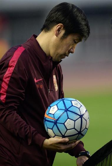 (体育)(4)足球——世预赛:国足西安备战