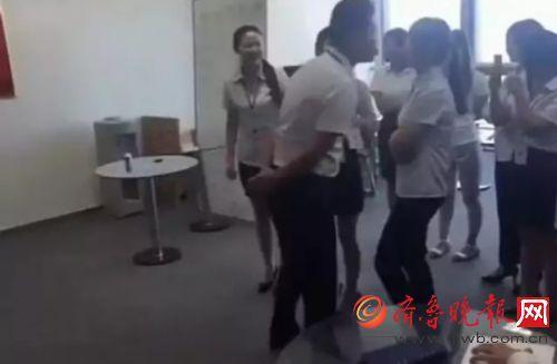 北京一公司竟然规定女员工须每天排队吻老板