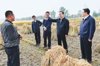 蒋超良调研时强调深入推进农业供给侧结构性改革