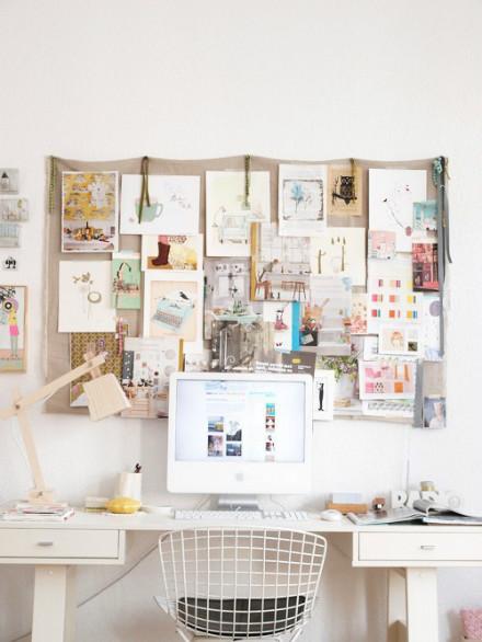 装饰+收纳都不能少 这才是理想的工作区