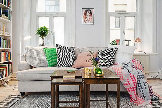 哥德堡狭长小户型 53平公寓温暖而自由