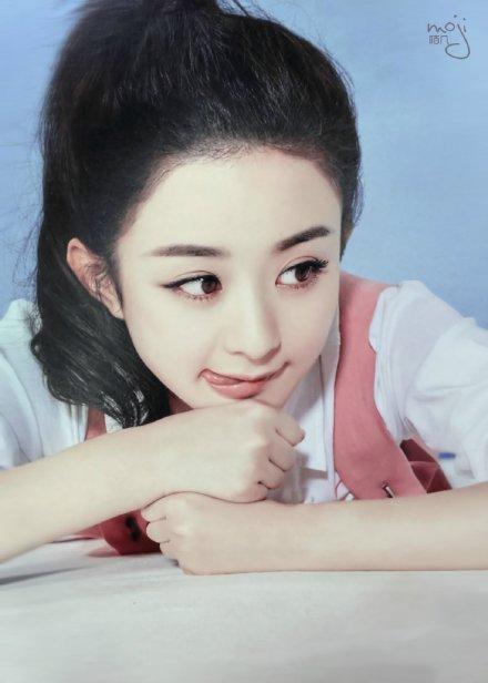 """赵丽颖:""""呆萌小公主"""",""""国民甜心"""",""""收视小主"""""""