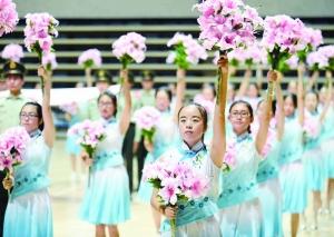 淮安第八届运动会20日开幕 开幕式有序排练