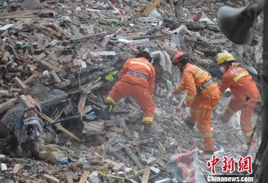 浙江温州民房倒塌搜救工作基本结束22人遇难