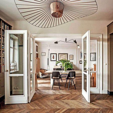 老公寓里的旧时光 复古巴黎公寓翻新