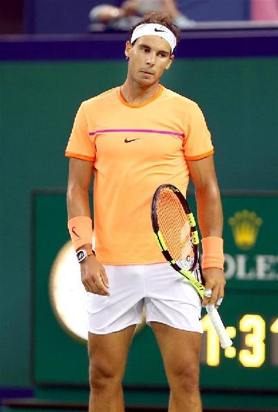 (体育)(4)网球——上海大师赛:纳达尔出局