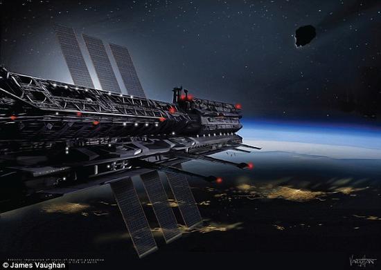 科学家们提议在太空建国 帮人类拦截小行星撞击(组图)