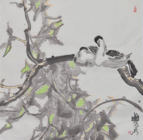 秋意释怀――刘伟张勇中国画小品展16日开幕