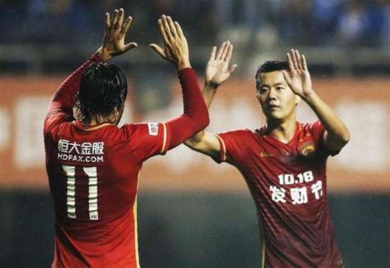 (体育)(10)足球――中超:广州恒大淘宝胜石家庄永昌