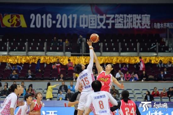 新赛季新疆女篮首场比赛憾负山西(图)