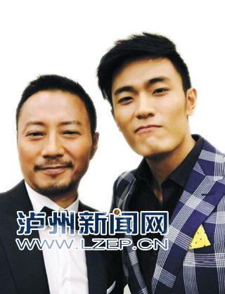 吴旭东(右)和张涵予