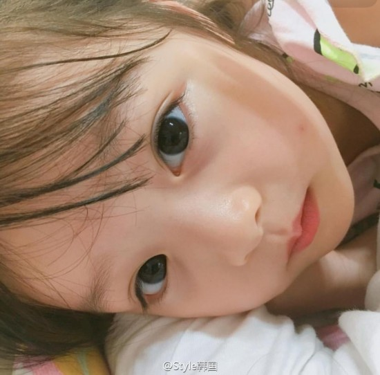 韩国梨涡妹妹圈粉无数 阿拉蕾刘楚恬盘点吃可爱长大的