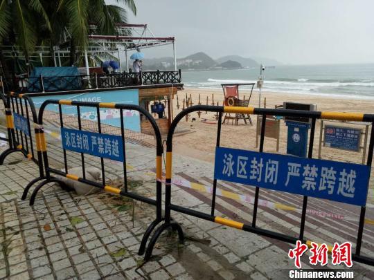 台风过后三亚景区陆续恢复营业涉海景区仍关闭
