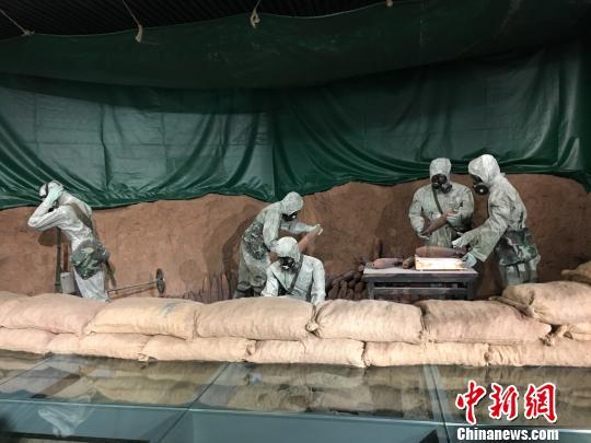 70多件日本遗弃在华化学武器证物南京展陈