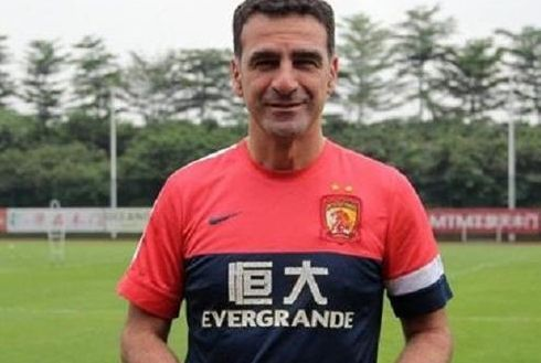 里皮任国足教练