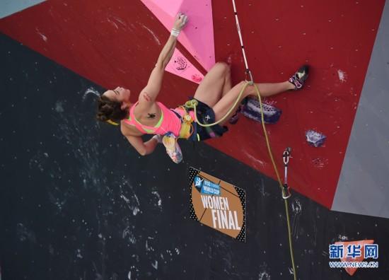 攀岩--2016中国厦门国际攀联世界杯难度决赛赛况