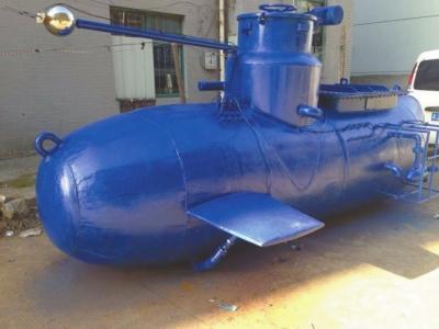下岗职工制造无人遥控潜艇:发明需要一定的狂热