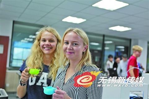 无锡机电高职迎来外宾 将学习中国传统文化