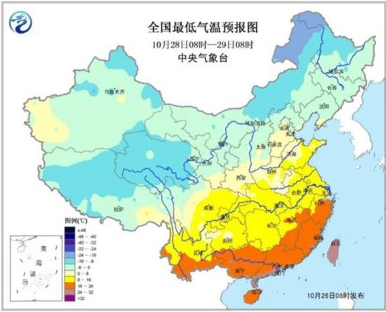 黄淮等地阴雨将持续至月底 冷空气将影响我国大部