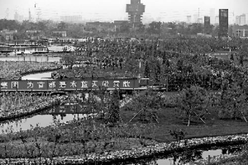 亚洲最大再生水厂在北京通水运行全部建于地下