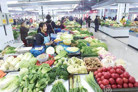 镇江江滨菜市场改造升级后正式迎客